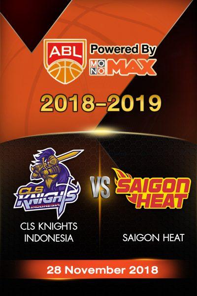 CLS Knights Indonesia VS Saigon Heat ซีแอลเอส ไนต์ อินโดนีเซีย vs ไซ่ง่อนฮีต