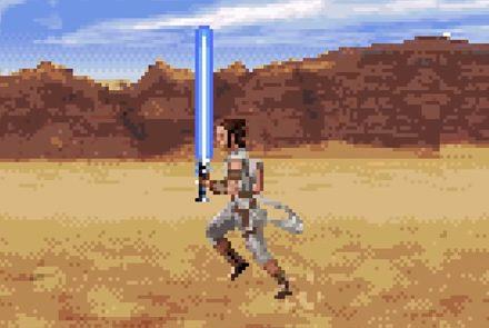 ตัวอย่าง Star Wars : The Rise of Skywalker เวอร์ชั่น 16 บิต!