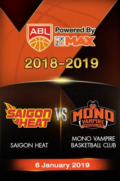 Saigon Heat VS Mono Vampire Basketball Club (2019) ไซ่ง่อนฮีต VS โมโน แวมไพร์
