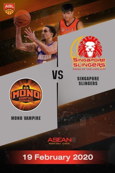 ABL 2019-2020 - Mono Vampire Basketball ClubVS Singapore Slingers (19-02-20) ABL 2019-2020 - โมโน แวมไพร์ VS สิงคโปร์ สลิงเกอร์ส (19-02-20)