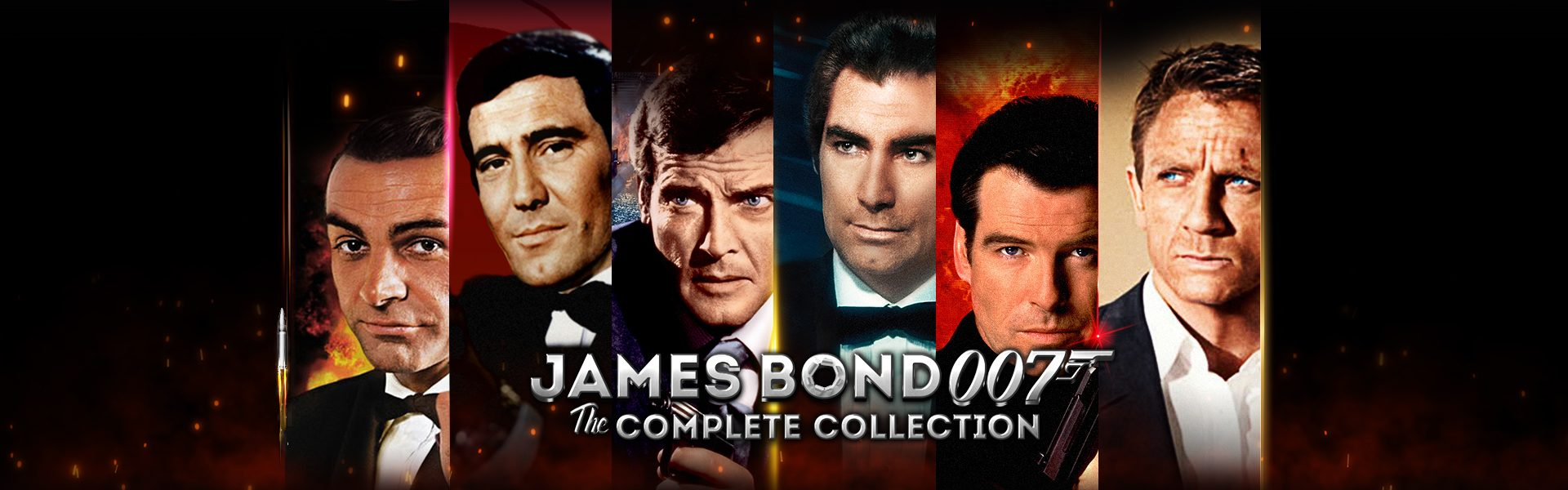 James Bond 007 The Complete Collection