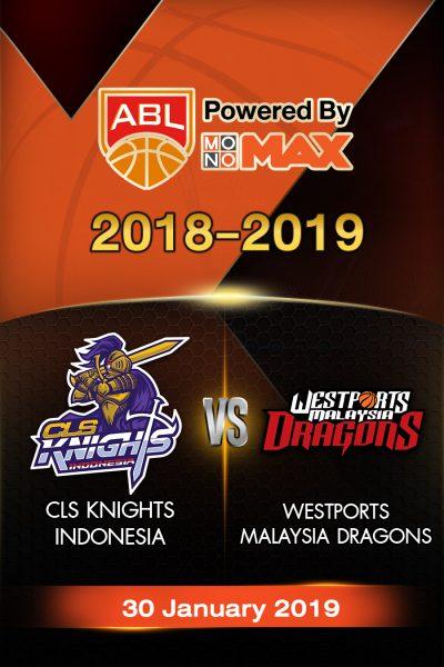 หนัง CLS Knights Indonesia VS Westports Malaysia Dragons