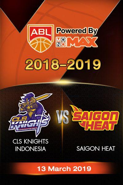 CLS Knights Indonesia VS Saigon Heat (2019) ซีแอลเอส ไนต์ อินโดนีเซีย VS ไซ่ง่อนฮีต