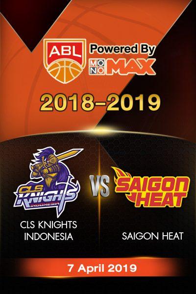 Playoffs - CLS Knights Indonesia VS Saigon Heat (2) Playoffs - ซีแอลเอส ไนต์ อินโดนีเซีย VS ไซ่ง่อนฮีต 2