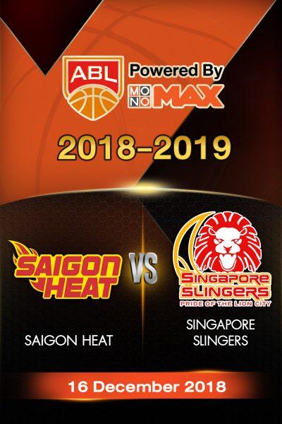 Saigon Heat VS Singapore Slingers ไซ่ง่อนฮีต vs สิงคโปร์ สลิงเกอร์ส