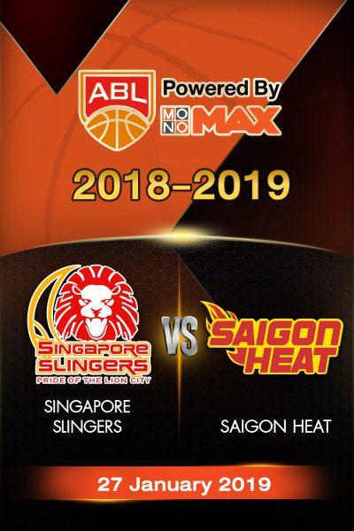 Singapore Slingers VS Saigon Heat สิงคโปร์ สลิงเกอร์ส VS ไซ่ง่อนฮีต