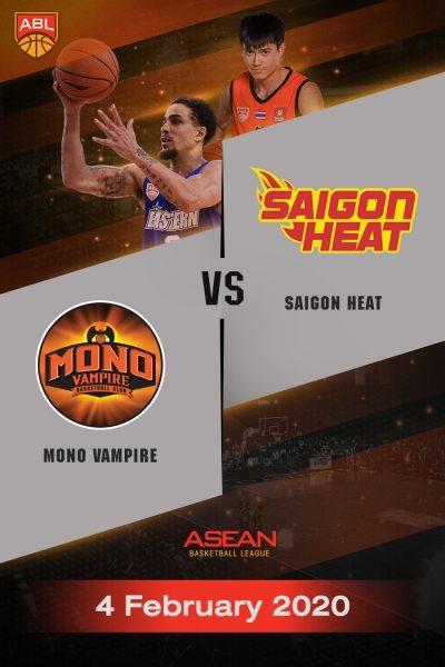 ABL 2019-2020 - Mono Vampire Basketball Club VS Saigon Heat (04-02-20) ABL 2019-2020 - โมโน แวมไพร์ VS ไซ่ง่อนฮีต  (04-02-20)