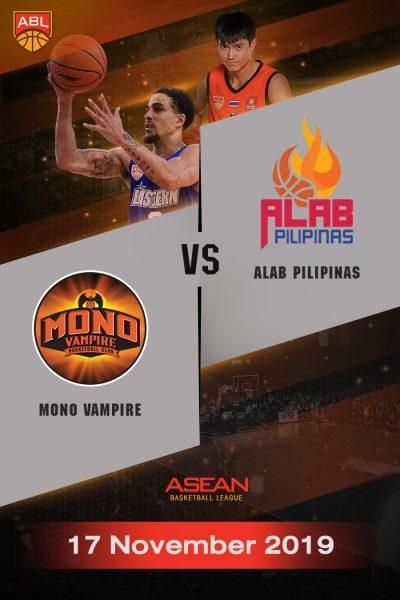 ABL 2019-2020 - Mono Vampire Basketball Club VS Alab Pilipinas (17-11-19) ABL 2019-2020 - โมโน แวมไพร์ VS อาลับ พิลิพินาส (17-11-19)