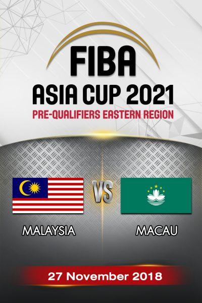 Malaysia VS Macau มาเลเซีย vs มาเก๊า