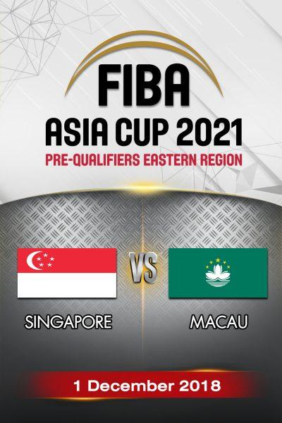 Singapore VS Macau สิงคโปร์ vs มาเก๊า