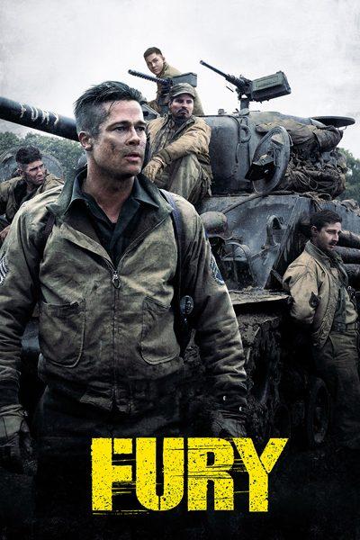 หนัง Fury ฟิวรี่ วันปฐพีเดือด