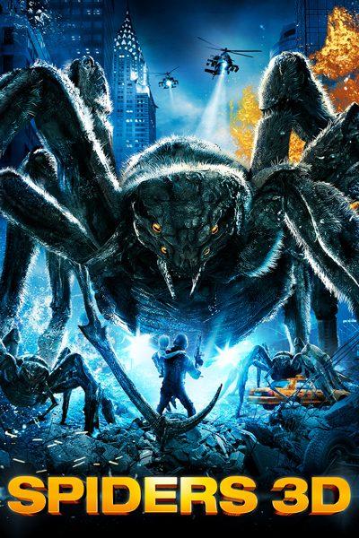 หนัง Spiders 3D