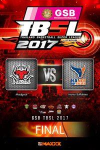 3rd G1: Madgoat - Hanoi Buffaloes แมดโกท VS ฮานอย บัฟฟาโล่ส์ คู่ที่ 1 25/3/17