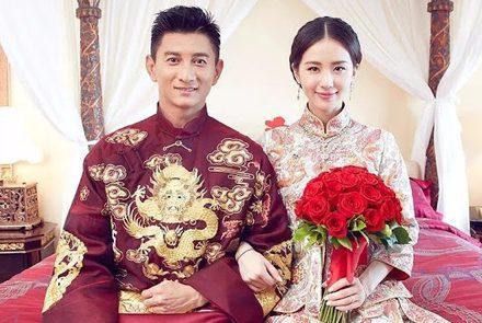 10 ชุดแต่งงานแบบจีนของคู่รักดาราดัง