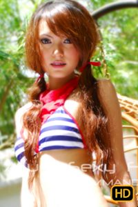 หนัง นกแก้ว Allure Hot Girl Set 2